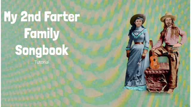 TUTORIAL 2nd Songbook Farter Family